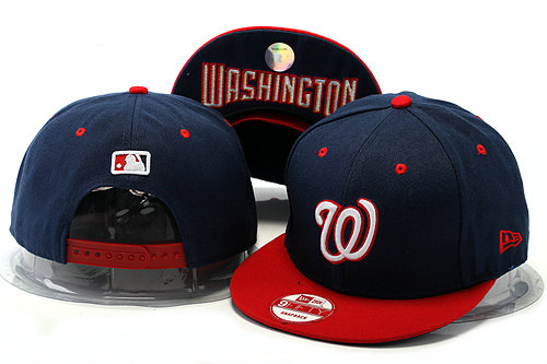 Washington Nationals Blue Snapback Hat YS 0528